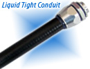 Smooth Black PVC Coated Metal Liquid Tight Conduit